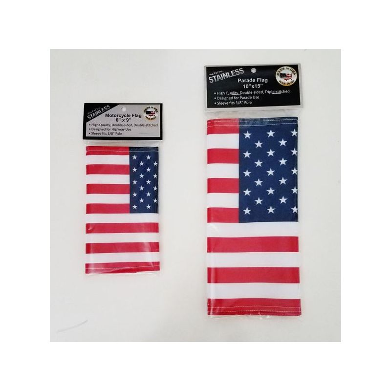 MOTORCYCLE FLAGS (6