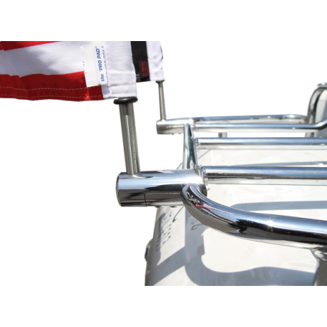STAINLESS STEEL MOUNT FOR FLAG POLE